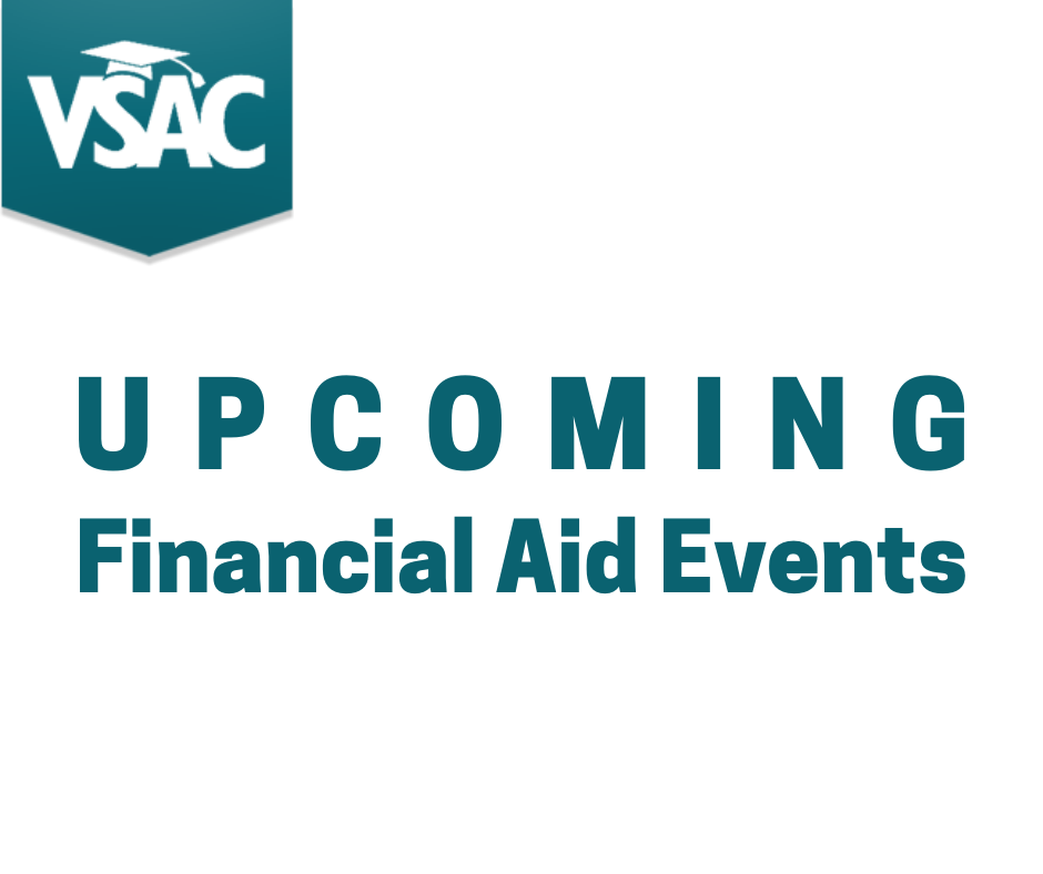 Financial Aid Events Graphic