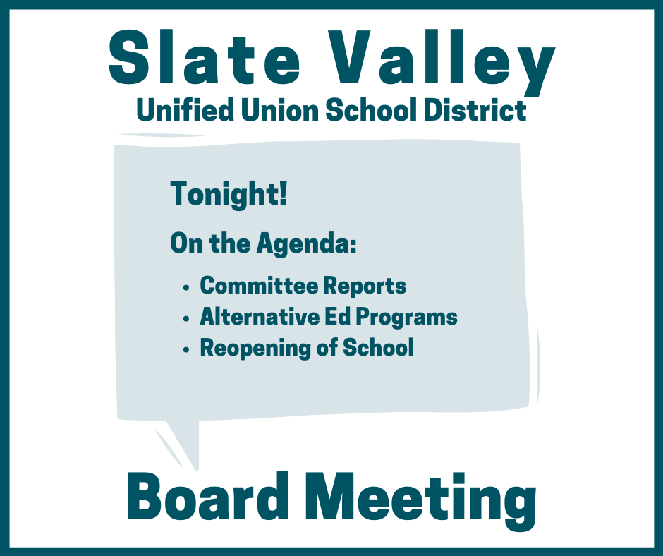 October 12 Board Meeting