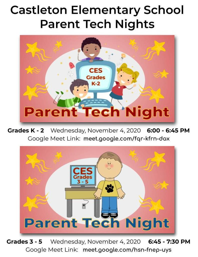 CES Parent Tech Night