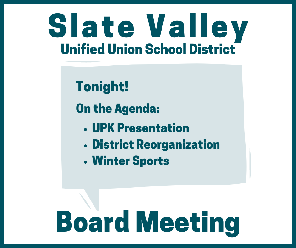 Board Meeting Tonight