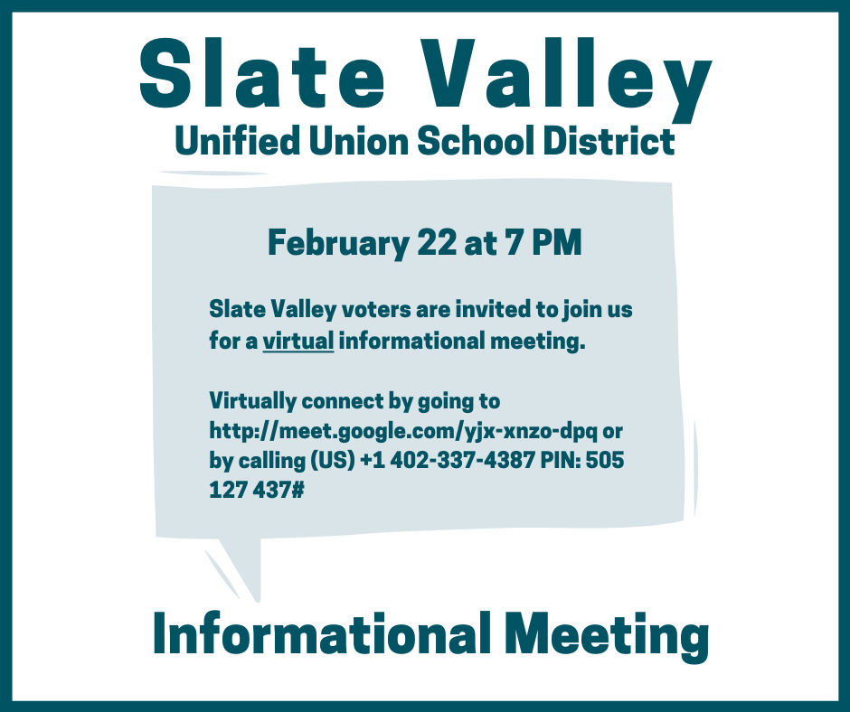 Informational Meeting