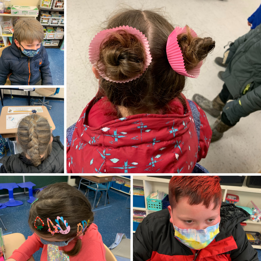 CES Spirt Week - Crazy Hair Day