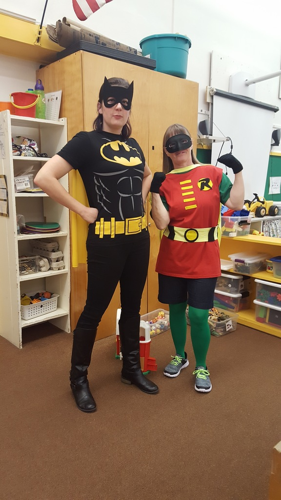 Batman & Robin!