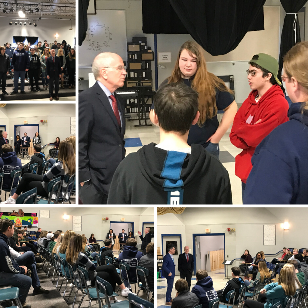 Peter Welch visits FHUHS