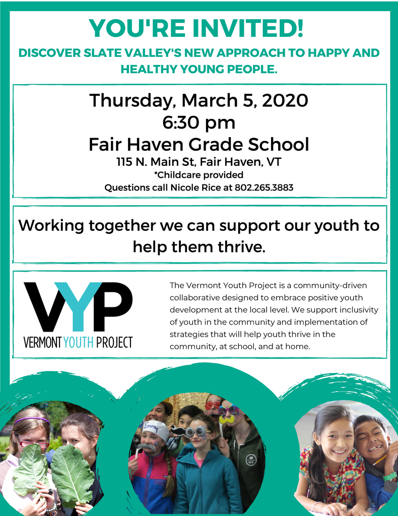 Vermont Youth Project - March 5